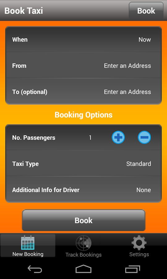 Orange Cab Seattle- screenshot