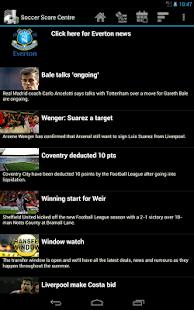Soccer Score Centre - screenshot thumbnail