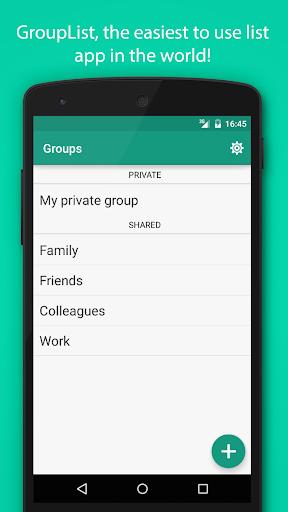 GroupList