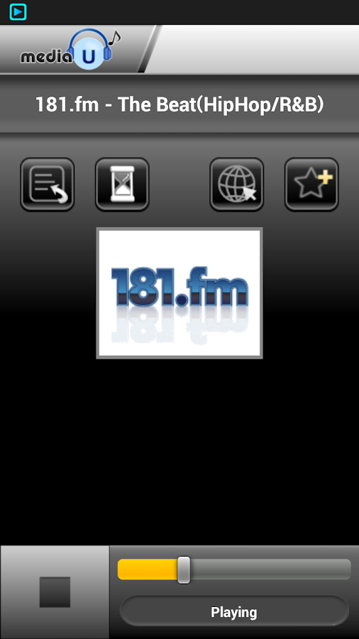 mediaU Radio- screenshot