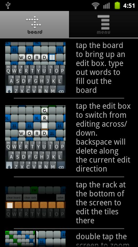 Word Grid Solver - screenshot