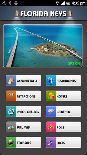 Florida Keys Offline Map Guide