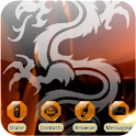 Cool Dragon [SQtheme] ADW logo