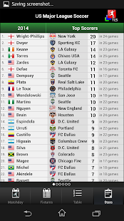 TLS Soccer - Top Live Stats- screenshot thumbnail