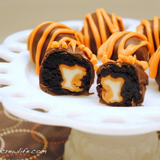 Pumpkin Spice Brownie Bites