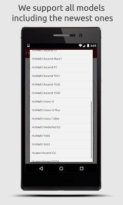 SIM Unlock for Huawei - screenshot