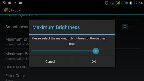 Screen Brightness Control- screenshot thumbnail