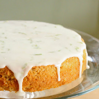 Lime And Coconut Cake.