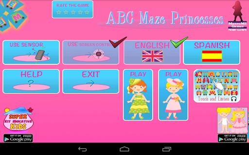 公主ABC迷宮