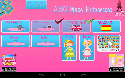 ABC Maze of Princesses- screenshot thumbnail
