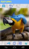 Screenshot of Parrot Jigsaw Puzzle