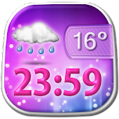 Beautiful Weather Clock Widget