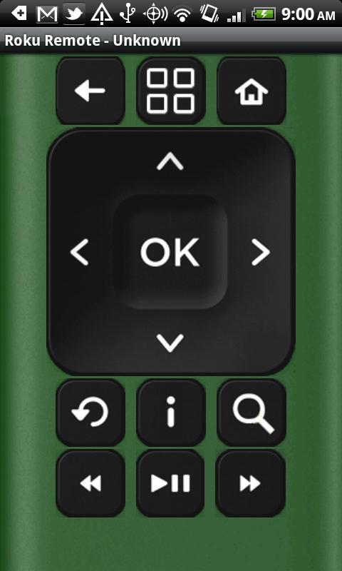 Remote for Roku- screenshot
