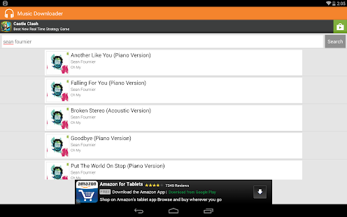 Holo Music MP3 Downloader FREE - screenshot thumbnail
