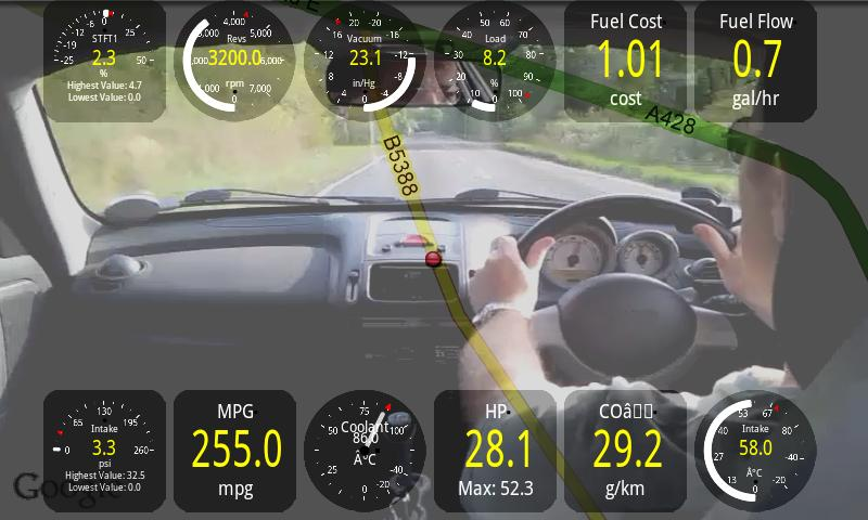 Track Recorder(Torque OBD/Car) - screenshot