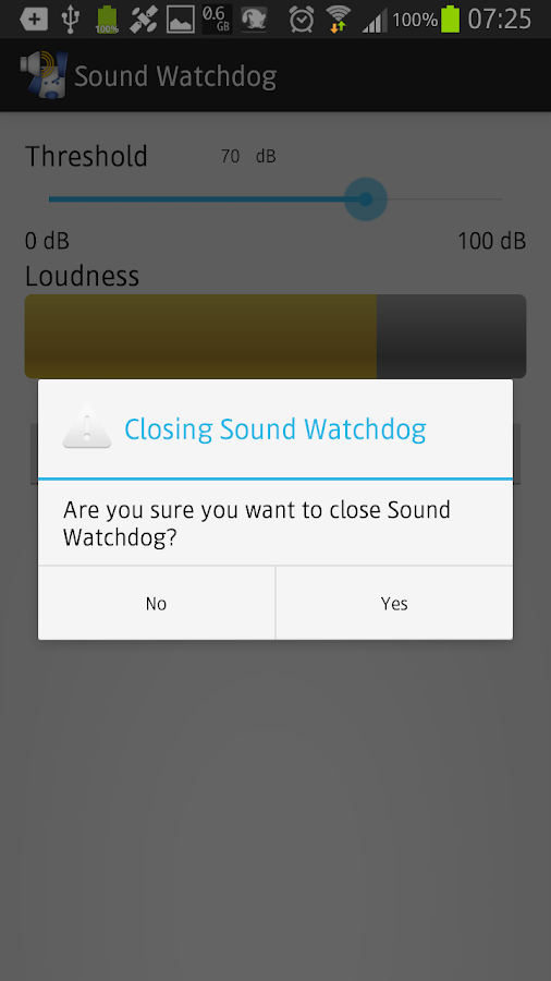 Sound Watchdog- screenshot
