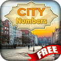 City Numbers Free icon
