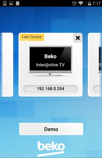 Beko TV Remote