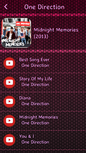 Download One Direction Lyrics Android Apps APK