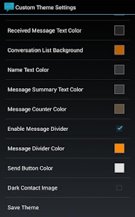 Sliding Messaging Theme Engine - screenshot thumbnail