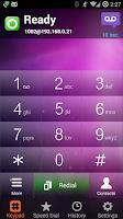 Screenshot of AGEphone