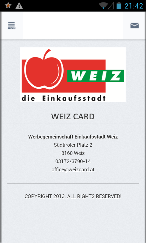 Weiz Card- screenshot