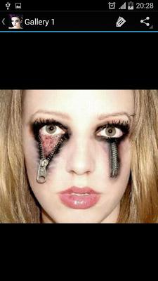 Halloween Makeup Easy Designs - screenshot