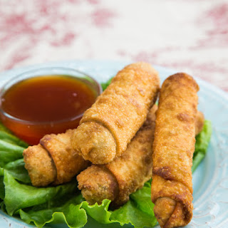 Chinese Egg Rolls for Kraft Recipe Makers.
