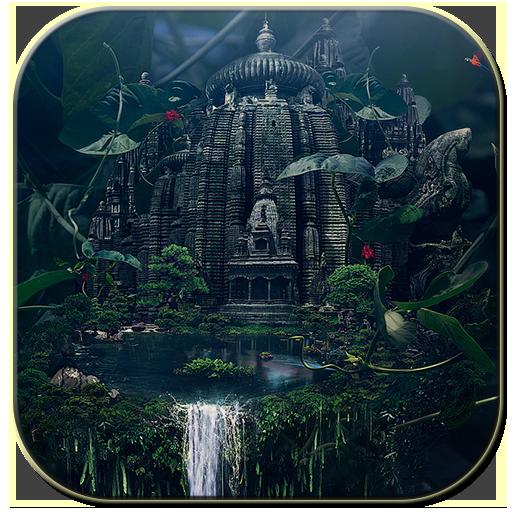 森の中の寺院 個人化 LOGO-玩APPs