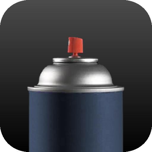 Spray Can LOGO-APP點子