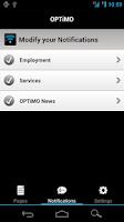 Screenshot of OPTiMO