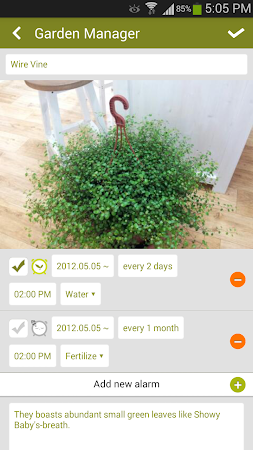 Garden Manager : Plant Alarm 1.7.8 screenshot 257002