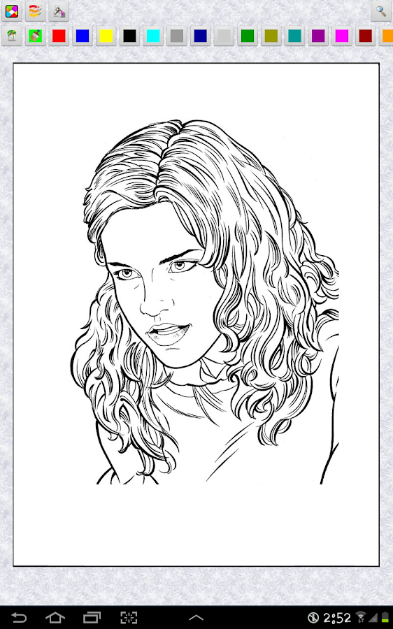 Download the Harry Potter Coloring