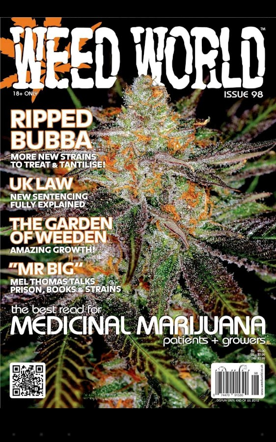 Weed World Magazine - screenshot