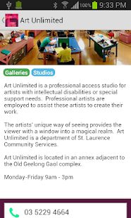 Geelong Arts & Culture Trails- screenshot thumbnail