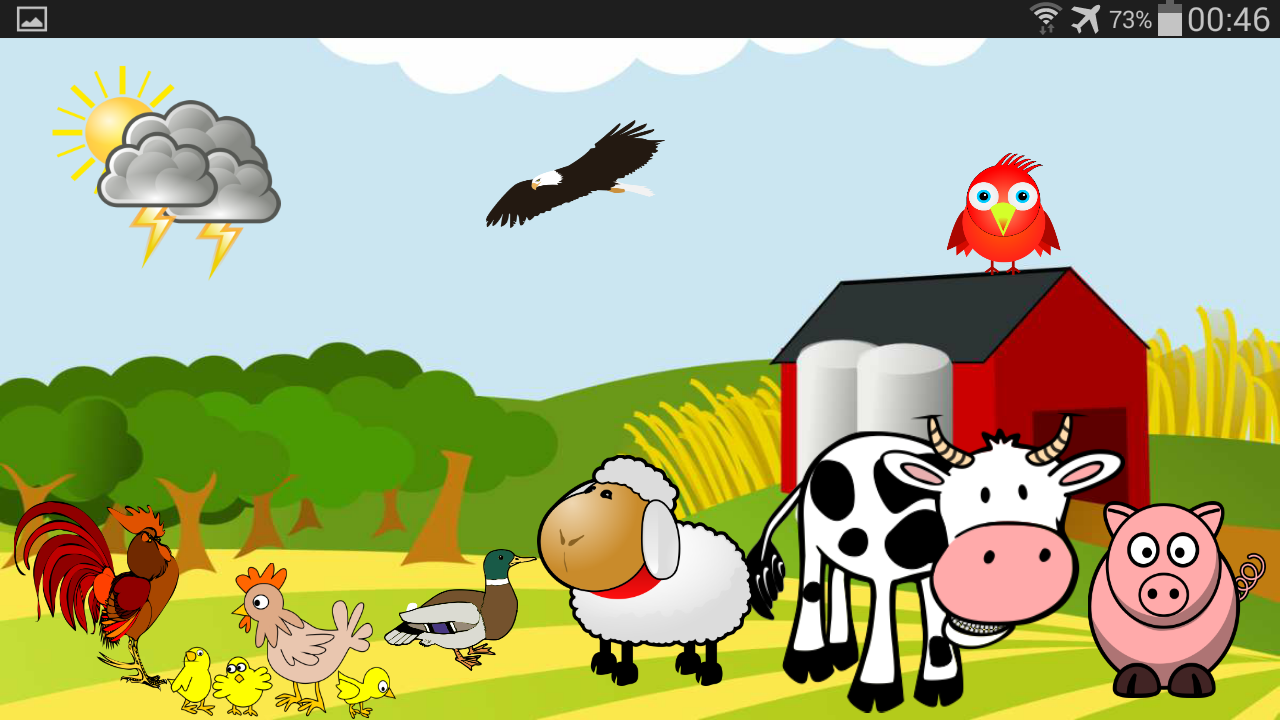 animal sounds for kids screenshot