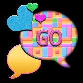 GO SMS THEME/TutiFrutiHearts