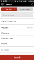 Screenshot of AuctionTime