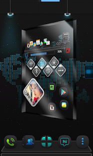 Thank Next Launcher Theme - screenshot thumbnail
