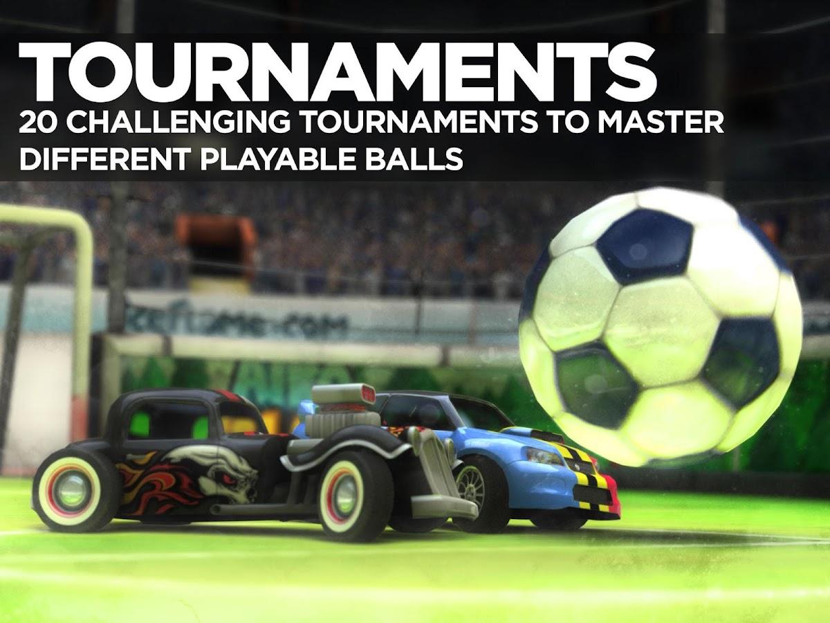 SoccerRally World Championship - screenshot
