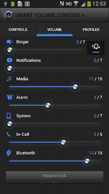 Smart Volume Control + - screenshot