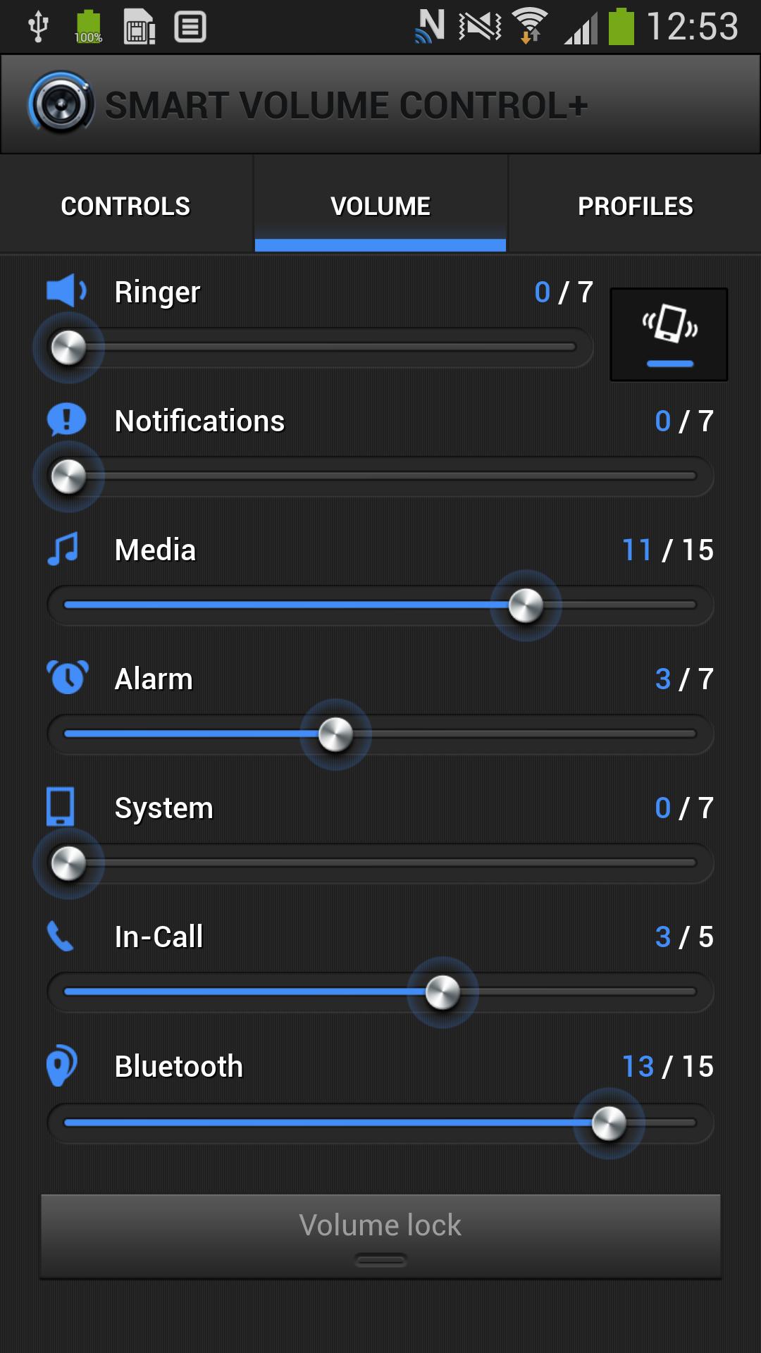 Smart Volume Control + screenshot #2