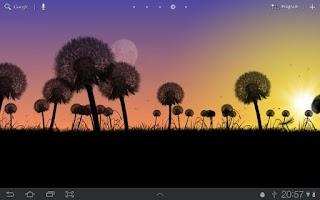 Screenshot of Dandelions Free Live Wallpaper