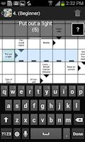 Screenshot of Crosswords Free