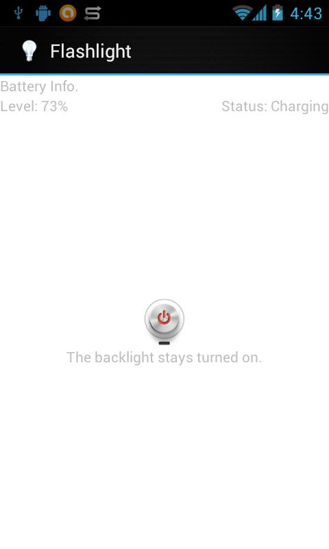 Torch Flashlight App- screenshot