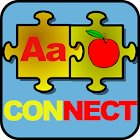Alphabet Numbers Connect Free icon