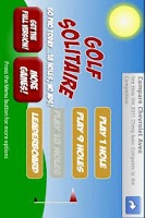 Screenshot of Golf Solitaire Free