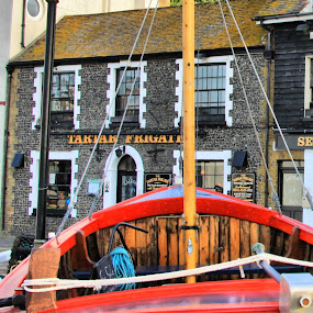 Broadstairs. by Mark Milham - Transportation Boats ( broadstairs, inn, kent, thanet, boat, pub )