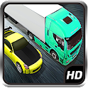 3D Highway Traffic Racer icon