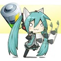 Chibi Vocaloid Battery Widget icon